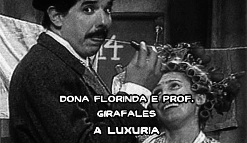 Jirafales e Florinda 1