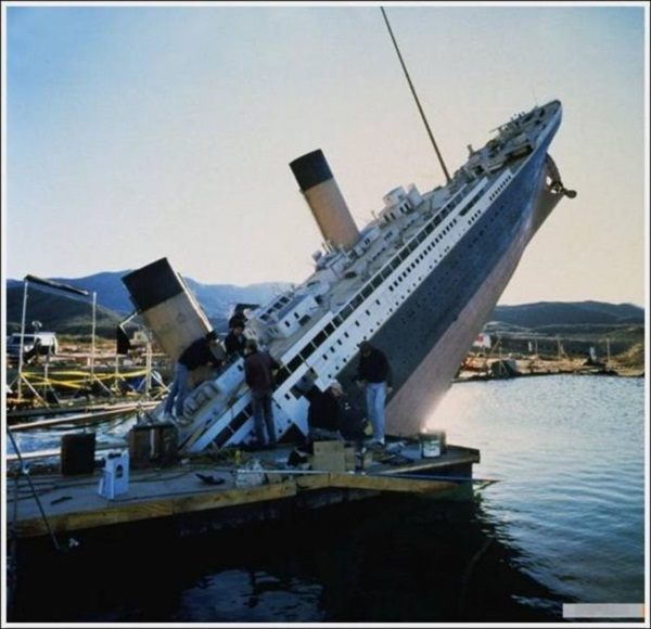 "Behind-the-scenes of Making of ""Titanic"" (26)"