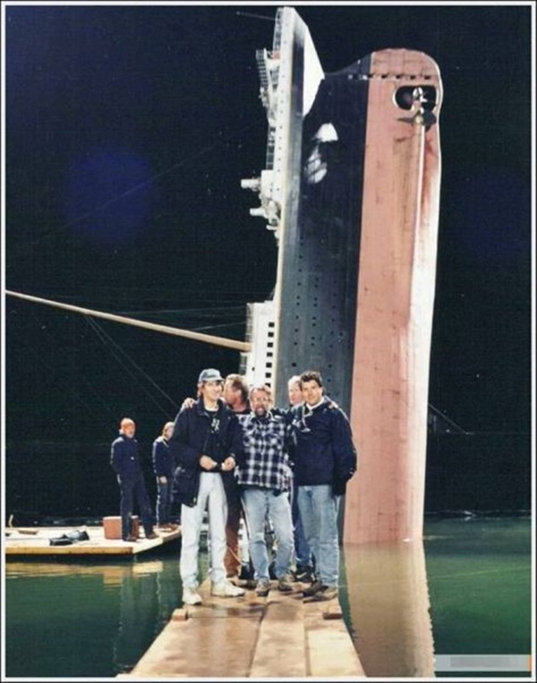 "Behind-the-scenes of Making of ""Titanic"" (4)"
