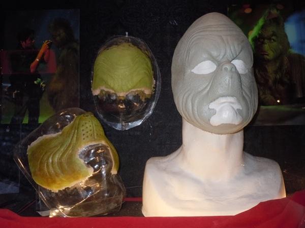 Jim Carrey Grinch prosthetics