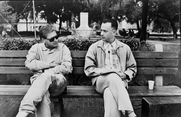 Tom Hanks e o diretor  Robert Zemeckis