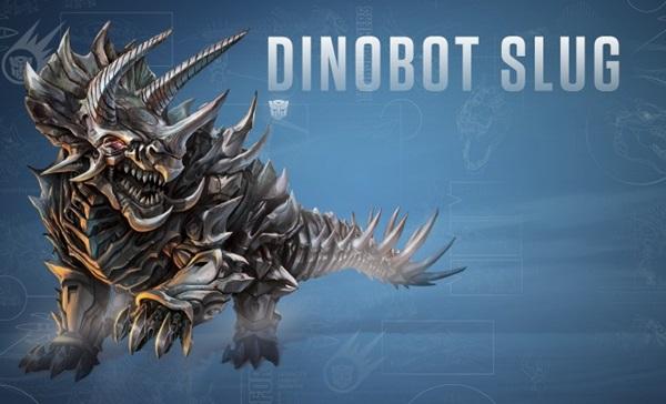 É um Tricerátopo. Em sua forma robô, possui duas espadas como arma ...