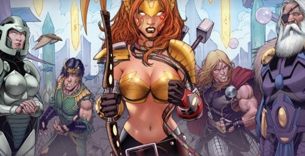 Angela, irmã de Thor e Loki