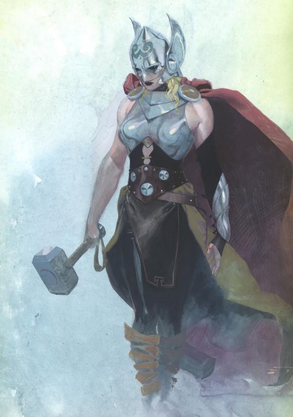 Segunda imagem oficial da nova Thor