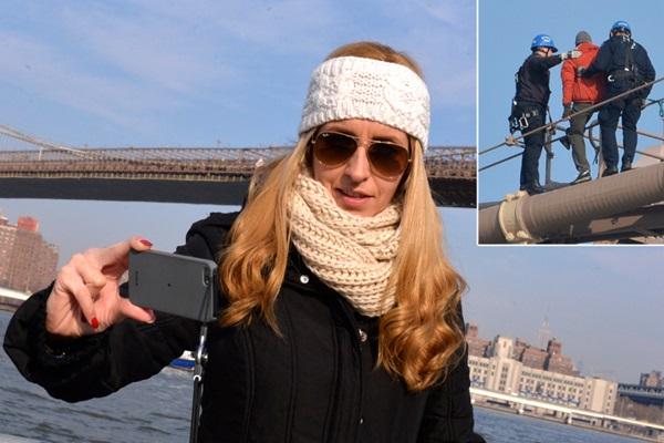 Brooklyn Bridge jumper