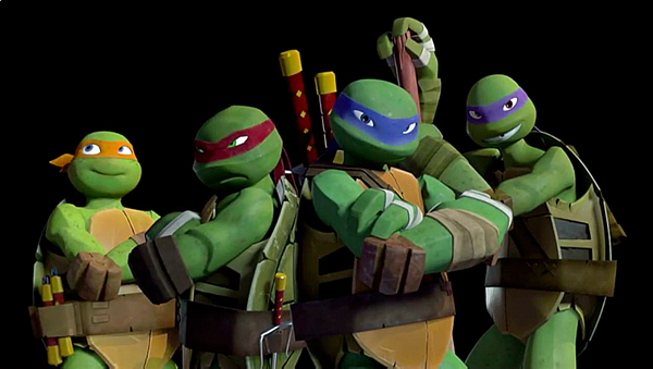 Origens Evolucoes As Tartarugas Ninja