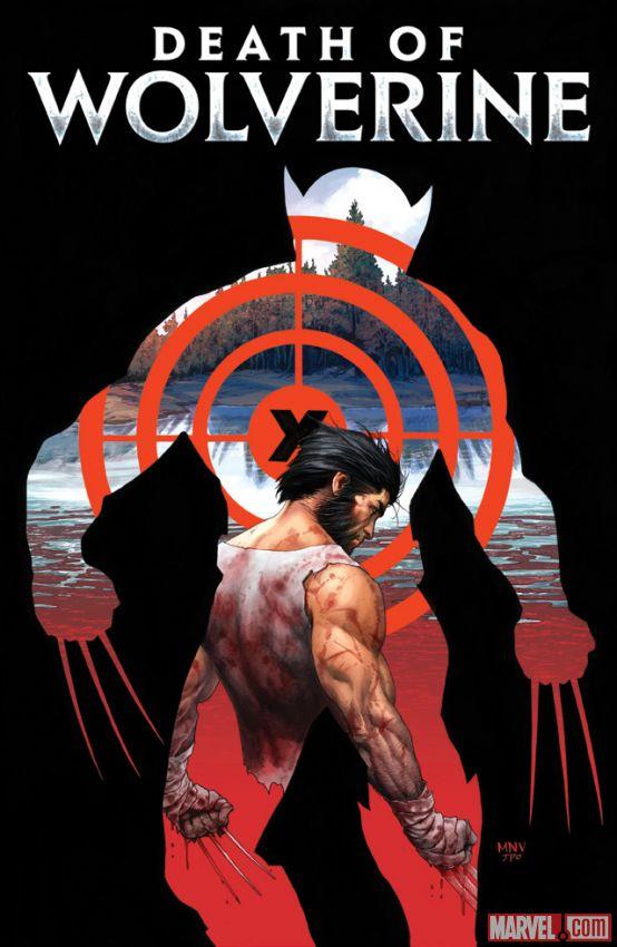 "Capa de ""Death of Wolverine"" divulgada pela Marvel."