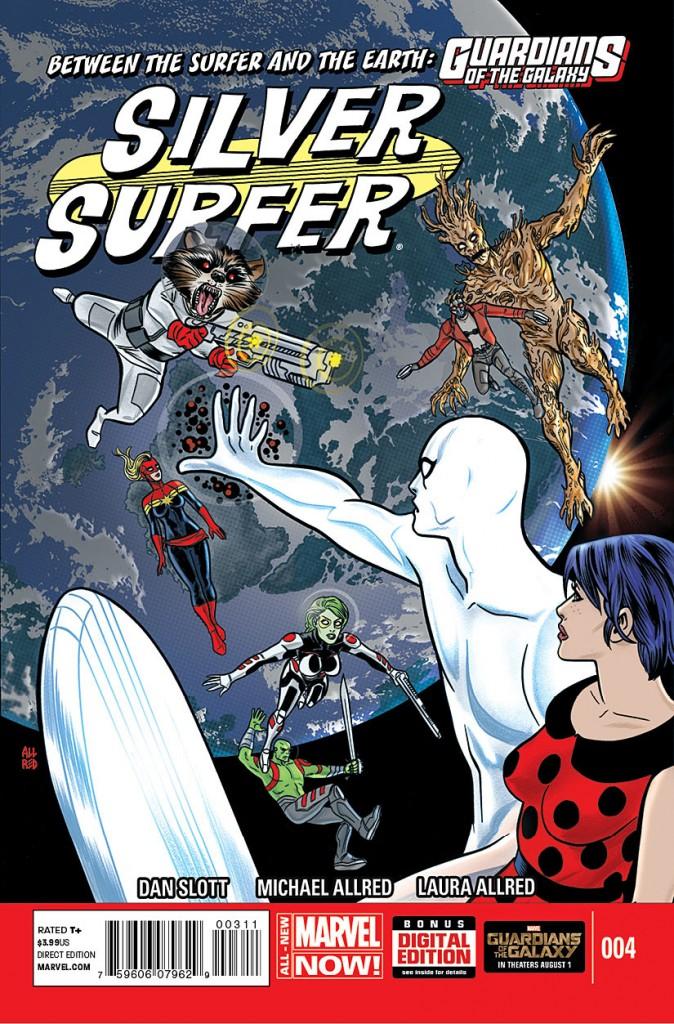Silver Surfer #4